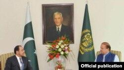 نواز شریف در ملاقات با وزیر امور خارجه افغانستان