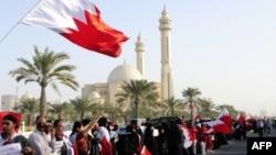 Bahreyn'deki Şii göstericiler