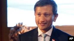 新加坡外交部长维文(资料照片)