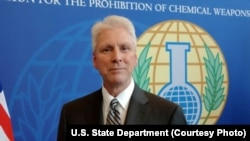 FILE — Kenneth Ward, the U.S. envoy to the Organization for the Prohibition of Chemical Weapons.