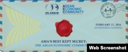 10 ASEAN trade ministers and their delegates will be meeting with U.S. business representatives in a public conference organized by US-ASEAN Business Council that will take place in San Francisco, on February 17th, 2016. (Screenshot from US-ASEAN Business Council)