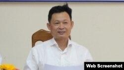 Ông Nguyễn Quốc Trâm, nguyên Giám đốc sở Ngoại vụ tỉnh Khánh Hòa. Photo Sở Ngoại vụ Khánh Hòa
