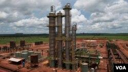 Angola Malanje destilaria da Bicom (Foto de arquivo)