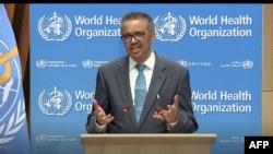 世界卫生组织总干事谭德塞 (2020年5月18日)
