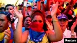 La Casa Blanca pidió proteger la libertad de expresión en Venezuela, específicamente de la prensa.