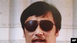 中國山東盲人法律維權人士陳光誠