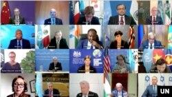 Savjet bezbjednosti održao virtuelni sastanak, 16. maj 2021.