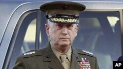 امریکی سینٹرل کمانڈ کے سربراہ جنرل جیمز میٹس