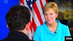 美國之音記者赫爾曼星期五在曼谷與美國駐泰國大使進行了談話。