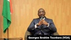 Le Premier ministre ivoirien, Amadou Gon Coulibaly à Abidjan, le 30 octobre 2017. (VOA/Georges Ibrahim Tounkara)