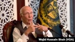 Kepala penasihat kebijakan luar negeri perdana menteri Pakistan, Sartaj Aziz (Foto: dok).