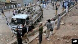 پشاورمیں دو بم دھماکوں میں 7 ہلاک متعدد زخمی