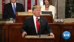 Обраќање на претседателот Трамп: Состојбата во нацијата е силна