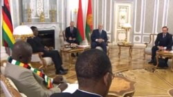 Sanctions to Blame for Zimbabwe's Economy President Tells Belarus Counterpart