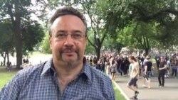Митинги в Бостоне
