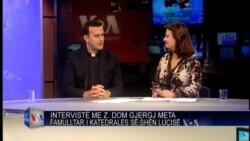 Intervistë me Dom Gjergj Metën