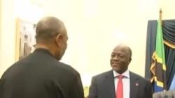 Rais Magufuli akutana na Maalim Saif