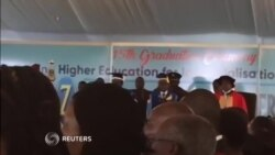 Zimbabwe President Performs Normal Duties at Graduation, Amidst Negotiations for his Resignation