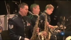 Джаз-бенд американських ВПС у Європі дав концерти в Україні. Відео