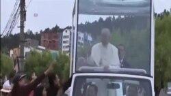 教宗訪問南美三國 關注窮人