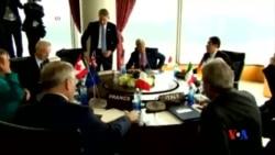 2016-04-10 美國之音視頻新聞: 克里抵達日本出席七國集團外長會議