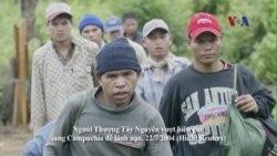 Thêm 18 người Thượng vượt biên sang Campuchia xin tỵ nạn