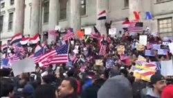 Yemenli Bakkallar New York'ta Eylem Yaptı