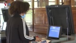 Voters Go to Polls Amid Pandemic, Protests