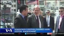Komisioneri Hahn ne Shkup
