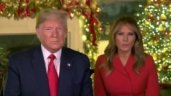 United States President and First Lady, Send Christmas Greetings