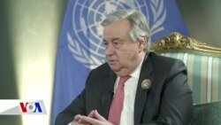 BM Genel Sekreteri'nden 'Şiddeti Durdurun' Çağrısı