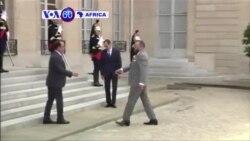 Perezida w'Ubufaransa Francois Hollande Yakiriye Umwami wa Maroc Mohammed VI