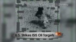 U.S. Strikes ISIS Oil Targets