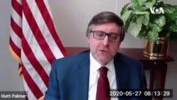 """Matthew Palmer za Glas Amerike: SAD su na Balkanu """"na duže staze"""""""