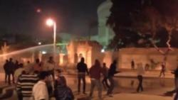 埃及抗議者與警察爆發衝突