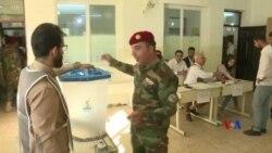 2018-09-28 美國之音視頻新聞: 伊拉克庫爾德斯坦官兵提早進行議會投票