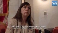 Lisa Peterson alimboli ntina nini akutanaki na Martin Fayulu