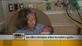 Les câlins néonataux