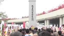 香港民眾清明節悼念六四死難者