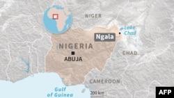 Map of Ngala, Nigeria