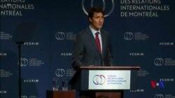 杜魯多說加拿大將不會從中加糾紛中後退