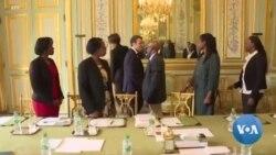 Macron reçoit Ibuka, association de soutien aux survivants du génocide rwandais