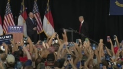 Clinton, Trump Vie for Police Support