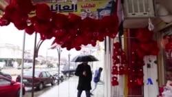 Pîrozbahiyên Valentine li Mûsil Piştî DAIŞê