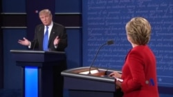 总统辩论之后 双方支持者争称我们赢了