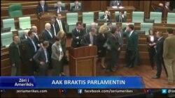 AAK braktis parlamentin