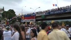 Venezuela: oposición marchó para presionar por el referéndum