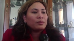 Alvenia Ropeta of the Philippine International Bible Church prays for her family - Part 2