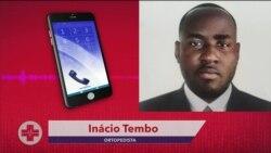 ASF: Ortopedista Inácio Tembo diz que a automedicação prejudica o tratamento de doenças dos ossos