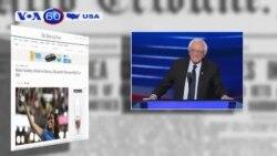 Thượng nghị sĩ Bernie Sanders ủng hộ mạnh mẽ bà Hillary Clinton (VOA60)